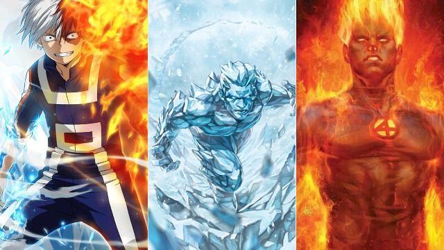 Karakter My Hero Academia dengan Kekuatan Mirip Superhero Marvel
