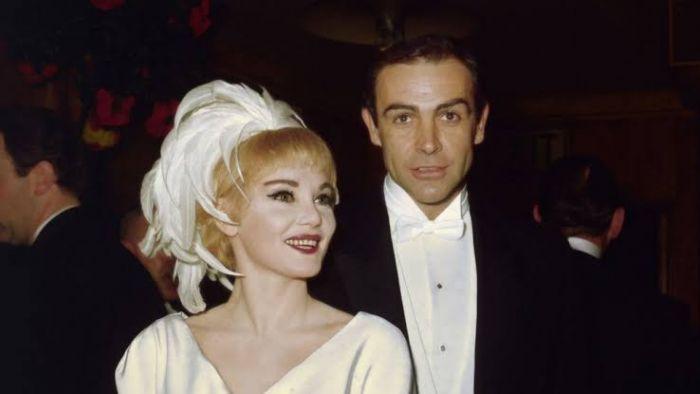 Sean Connery dan Diane Cilento.