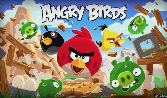 Seri game Angry Bird.