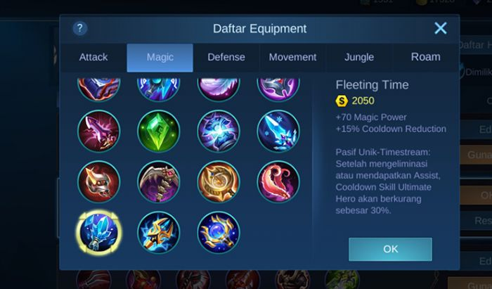 build item support terbaik di Mobile Legends.