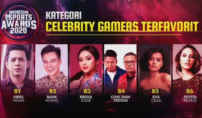 Nominasi Indonesia Esports Awards 2020.