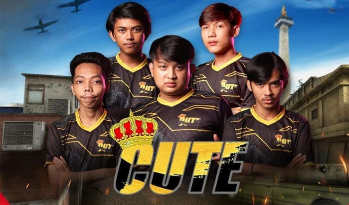CUTE TRP 300 amankan slot Grand Final PBIQ