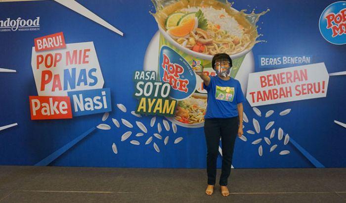 Vemri Veradi Junaidi selaku Senior Brand Manager Pop Mie, PT Indofood CBP Sukses Makmur Tbk