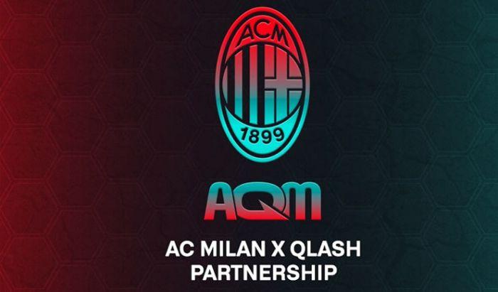 AC MIlan bekerja sama dengan salah satu tim asal Itali, Team QLASH