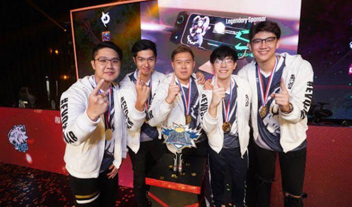 EVOS SG, juara MPL Season 4 MY/SG.