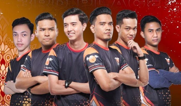 Orange Esports menempati posisi ketiga di MPL Season 6 Malaysia.