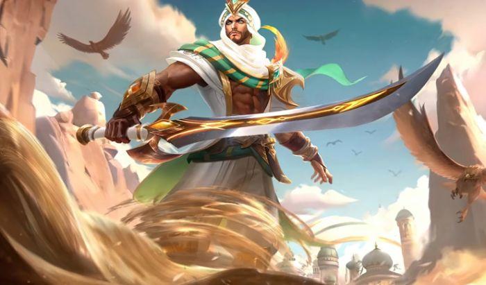 Khaleed Fighter Mobile Legends.