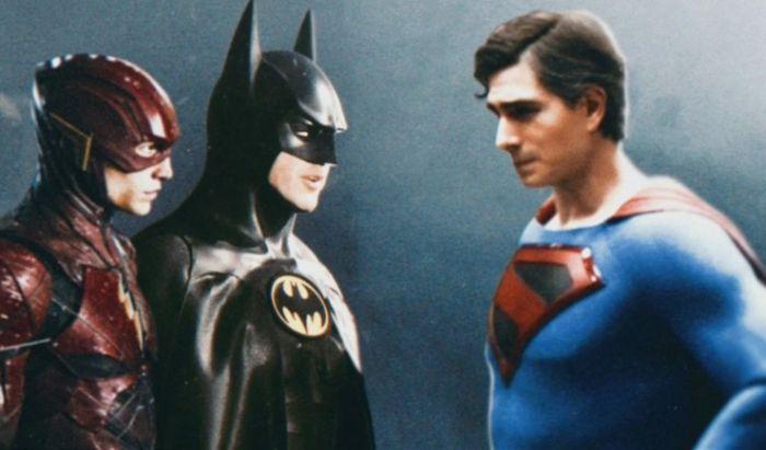 Superman Brandon Routh di Film The Flash