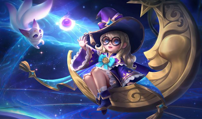 Hero Mage Mobile Legends.