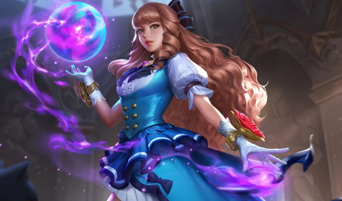 Guinevere Mage/Fighter.