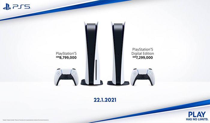 Harga dan tanggal rilis PS5.