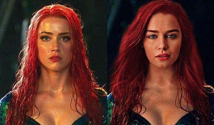 Amber Heard Bantah Rumor Dipecat Jadi Mera di Aquaman 2