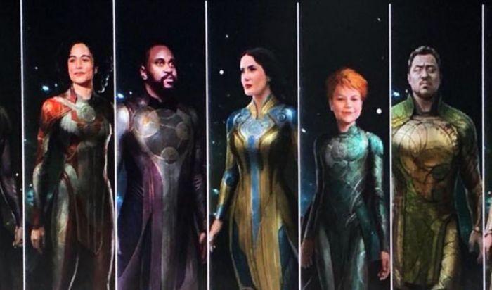 Tampilan Karakter Film Marvel Eternals Bocor di Internet!