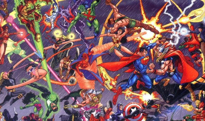 Konflik Marvel dengan DC