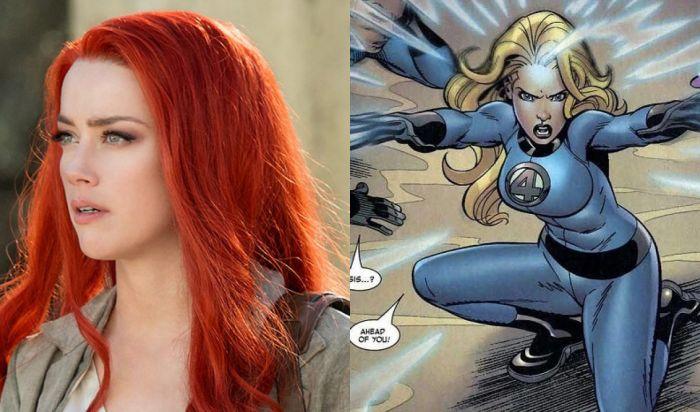 Beginilah Jika Amber Heard Perankan Invisible Woman di Fantastic Four!