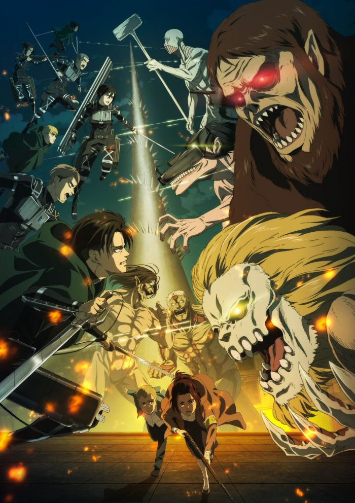 Begini Cara Streaming Attack on Titan Season 4, Gratis dan Legal!