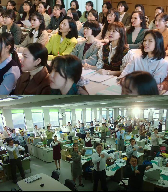 Sinopsis dan Review Film Samjin Company English Class.