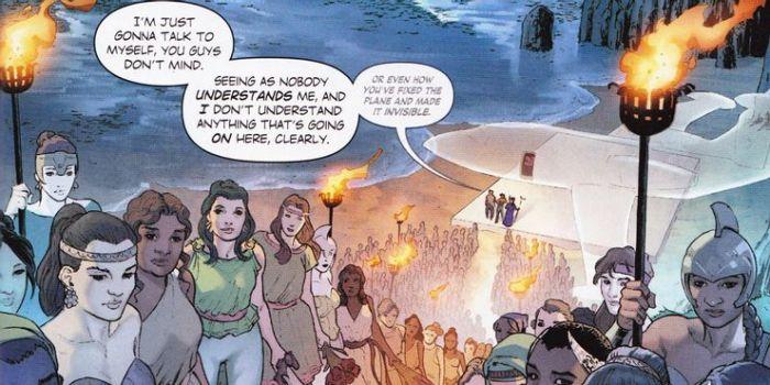 Fakta Invisible Plane, Pesawat Ajaib Wonder Woman.