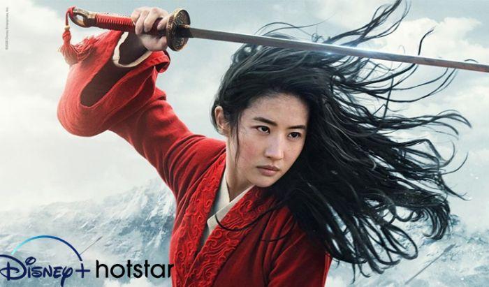 Film Mulan tayang di Disney+ Hotstar Indonesia.