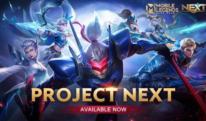 Project NEXT Mobile Legends.