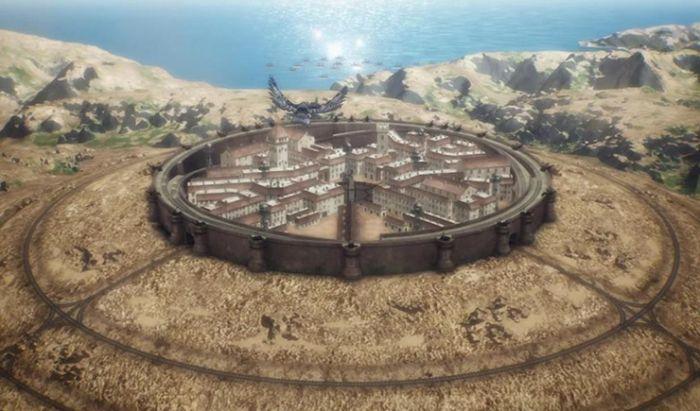 Fort Slava, benteng pertahanan terakhir Aliansi Timur Tengah.