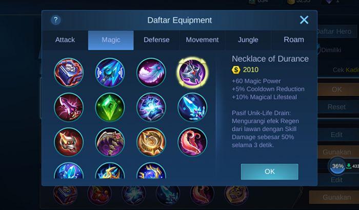 Item Magic Mobile Legends.