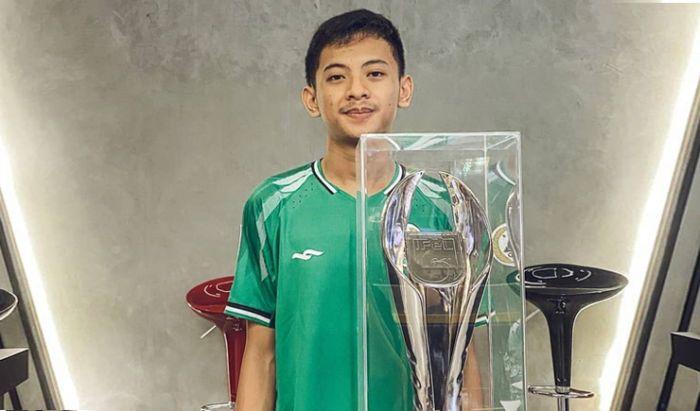 Rizky Faidan atlet e-Football PES 2020.