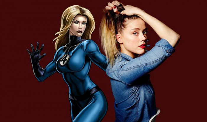 Marvel Gaet Amber Heard Jadi Invisible Woman di Film Fantastic Four?