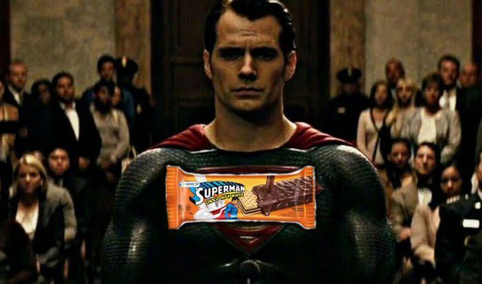 DC Comics Gugat Perusahaan Wafer Superman, Siapakah yang Menang?