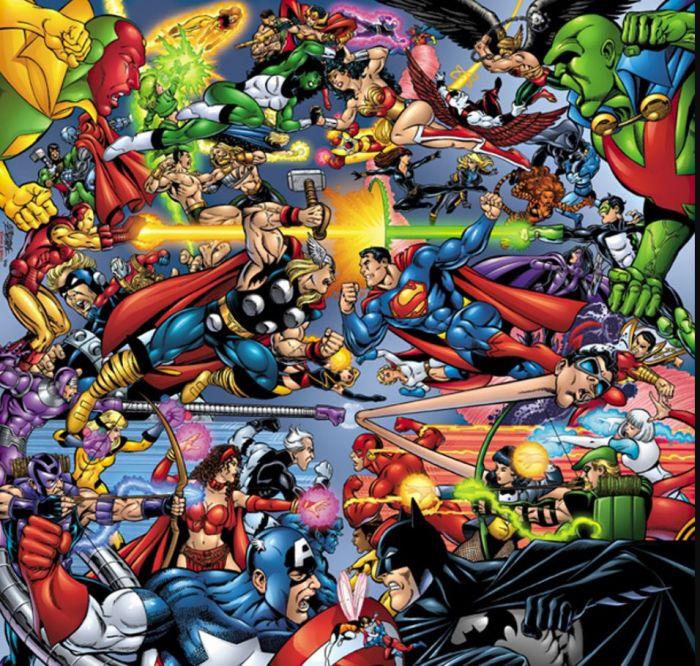 Konflik Marvel dengan DC.