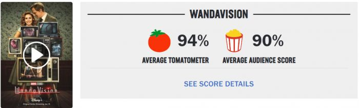 Baru Rilis, Serial WandaVision Raih Rating Tinggi di Rotten Tomatoes