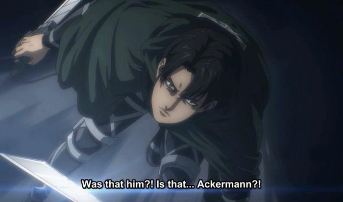 Fakta Levi Ackerman Attack on Titan