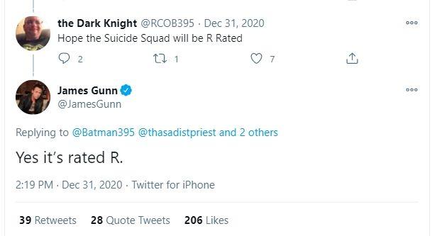 Suicide Squad 2 Dipastikan Bakal Dapat Rating Dewasa