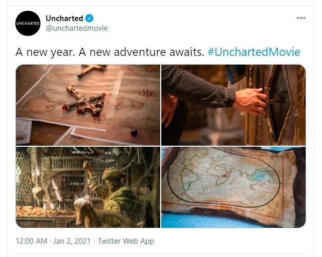 Rayakan Tahun Baru, Sony Pictures Rilis Foto Terbaru Film Uncharted