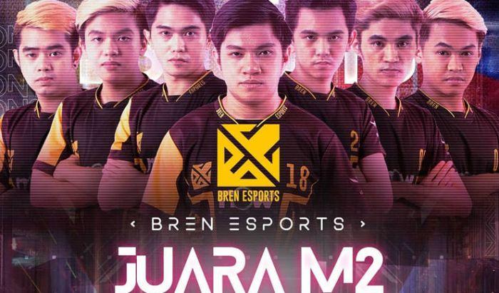 Bren Esports juara M2 World Championship