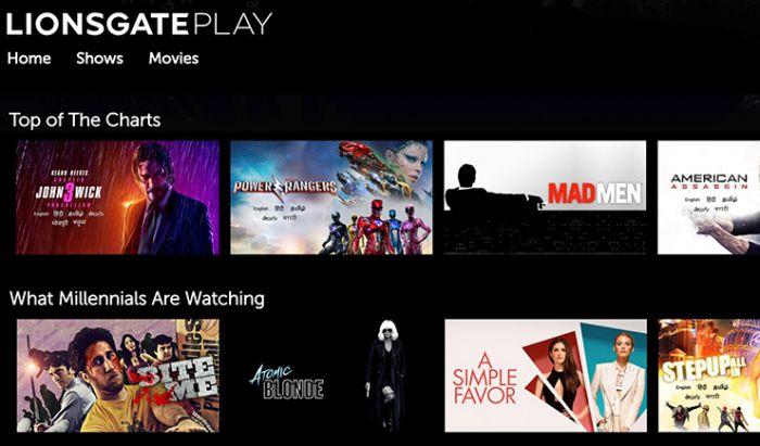 Layanan Streaming Milik Lionsgate Bakal Dibuka di Indonesia