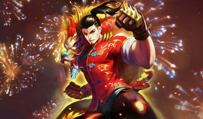 Fighter Chou Mobile Legends.