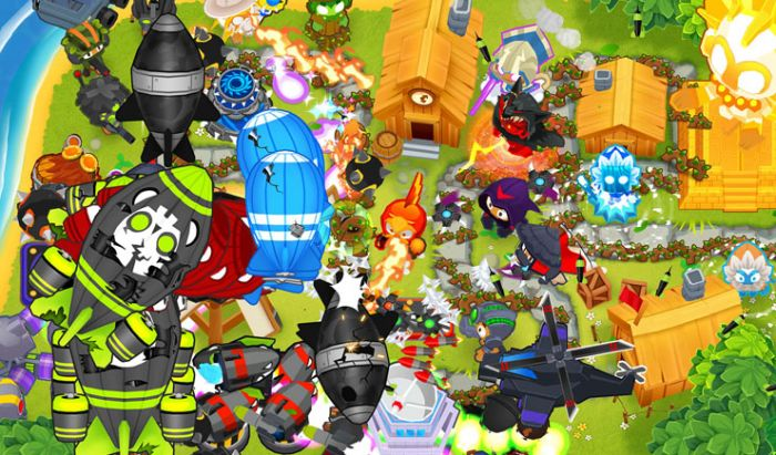 Salah satu game Tower Defense di Steam, Bloon TD 6
