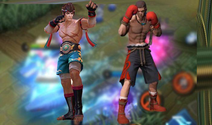 Chou dan Paquito Mobile Legends.