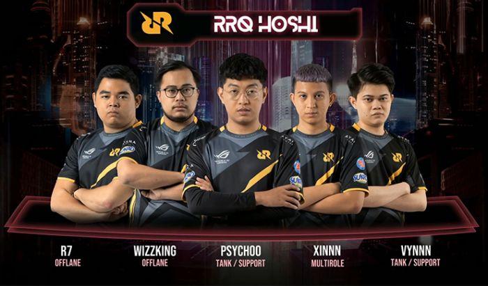 RRQ Hoshi M2 Worlds Championship 2021.