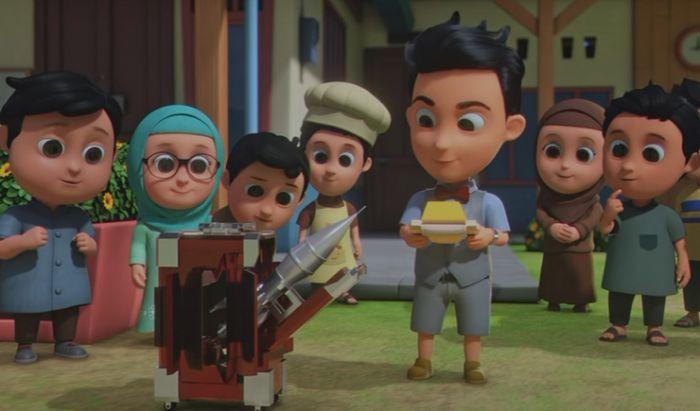 Nussa Punya Saingan Baru di Trailer Perdana Film Nussa
