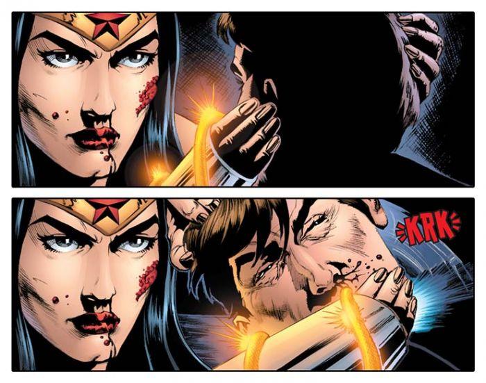 Hal Brutal yang Pernah Dilakukan Wonder Woman