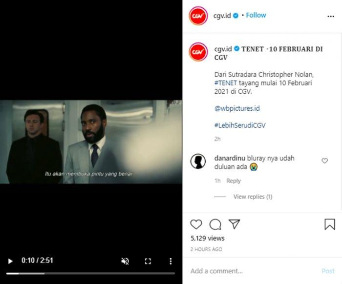 Tenet Resmi Tayang di Bioskop Indonesia, Inilah Tanggalnya