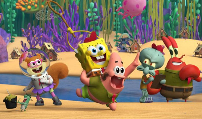 First Look Kamp Koral, Spin-off dari Kartun SpongeBob SquarePants