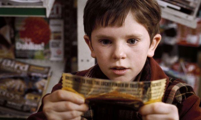Charlie di Charlie and the Chocolate Factory. Nama Karakter Utama Film Hollywood yang Paling Banyak Dipakai.