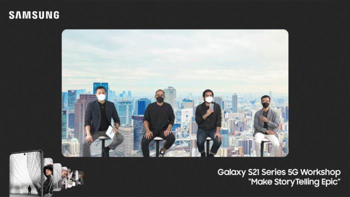 Dua Kreator Bagikan Pengalaman Syuting Epik Pakai Samsung Galaxy S21 Series 5G