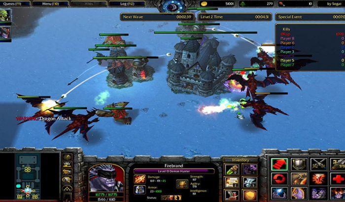 Mod X Hero Siege Warcraft III: Frozen Throne