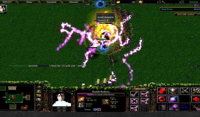 Mod BvO Warcraft III: Frozen Throne