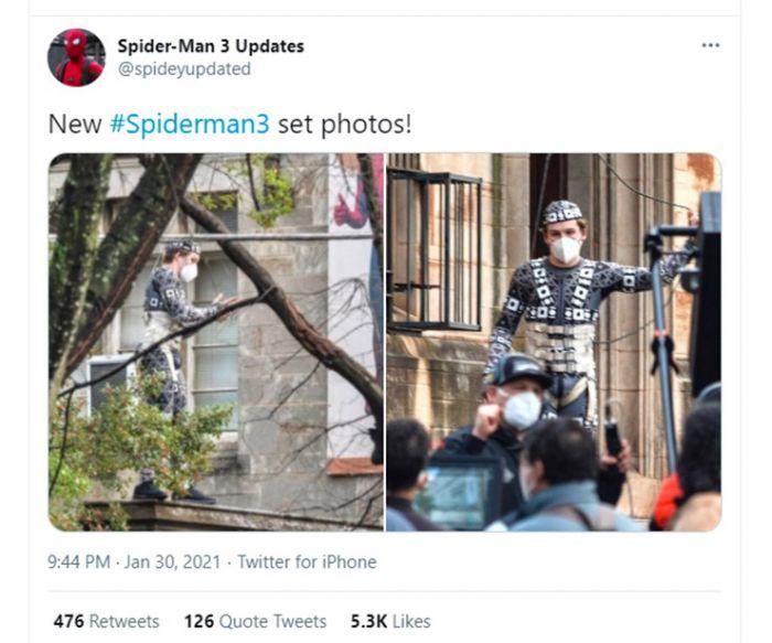 Kostum Iron Spider Bakal Muncul Lagi di Spider-Man 3