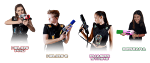 systems for indoor laser games